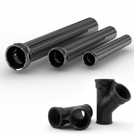Чугунные трубы и фасонные части
